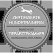 Zertifizierte Hundetrainerin durch die Tierärztekammer Schleswig Holstein